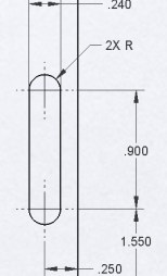 Dimensioning Method (a)