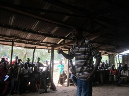 Les communautés donnent leur avis sur le projet