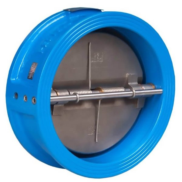 blue Wafer double plate check valve-2