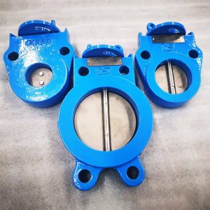 Air conditioning butterfly valve