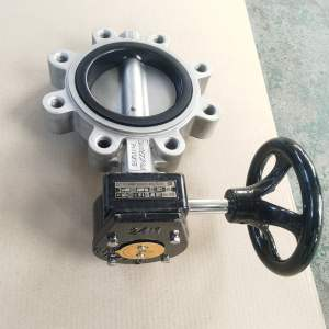 LT type clamp butterfly valve