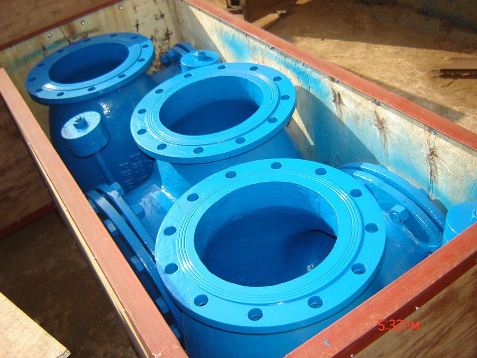 Check valve packing diagram
