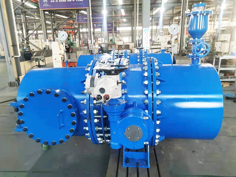 FCV Complete set of butterfly valve equipment for water power generation