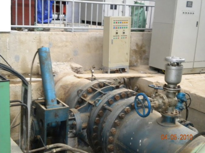 FCV-Full hydraulic control check butterfly valve use site
