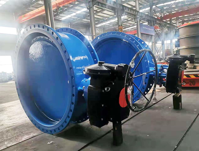 FCV-butterfly valve preparation before delivery-1