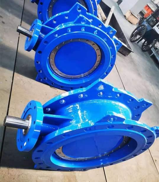 FCV Cast Iron Triple Eccentric Metal Seal Butterfly Valve Manufacturer
