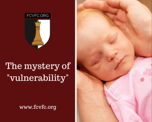 "The mystery of ""vulnerability"""