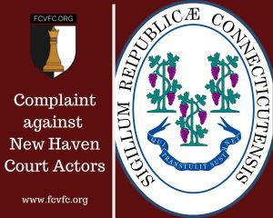 Family Court Corruption in New Haven County, Connecticut