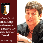 The Complaint against Judge Jane Grossman: Before the Judicial Review Board