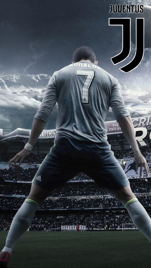 Wallpaper C Ronaldo Juventus iPhone | 2019 Football Wallpaper