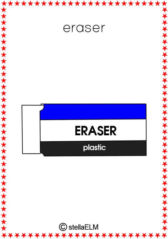 Flashcards Stationery