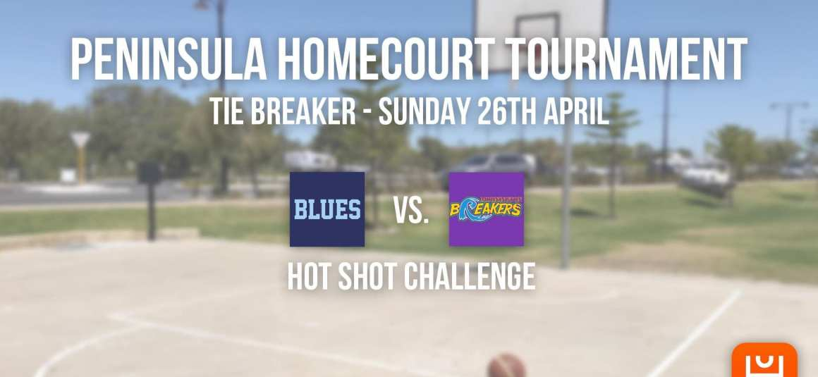 PENINSULA HOMECOURT TOURNAMENT – TIE-BREAKER RESULT