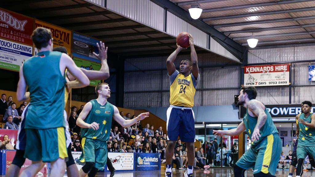 FUTURE NBA STARS SPARKLE FOR UNIVERSITY OF CALIFORNIA, BERKELEY IN TOUR GAME AT FRANKSTON