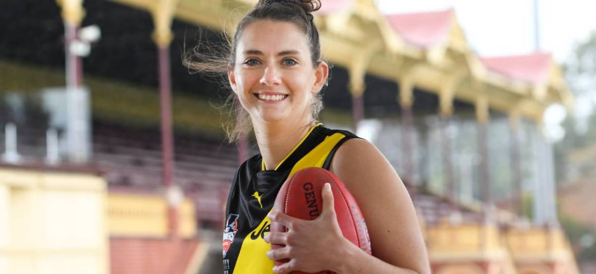 LAVEY SHINES IN AFLW DEBUT WITH RICHMOND