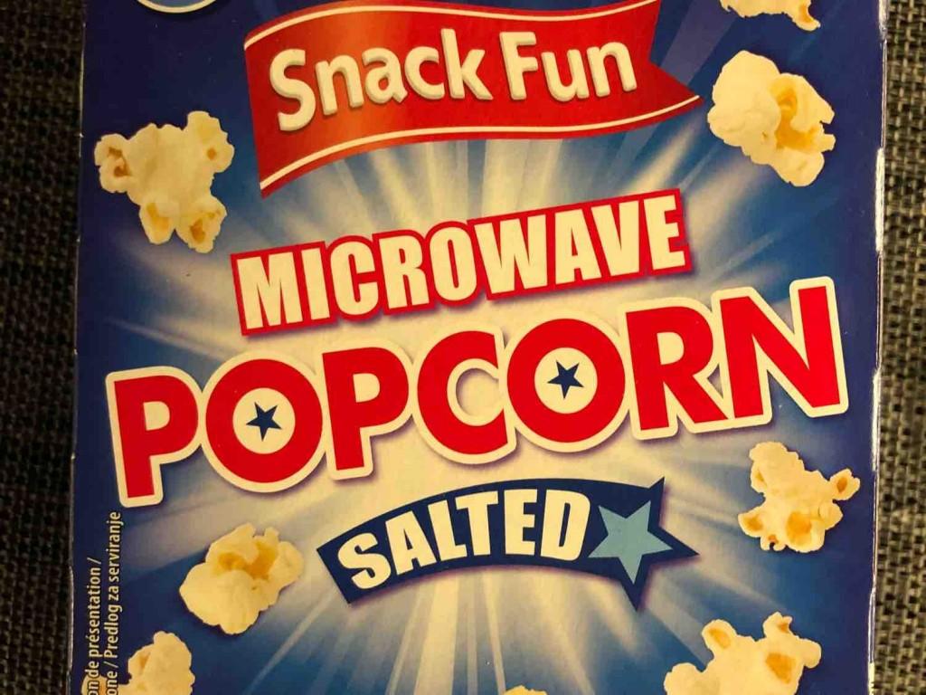 hofer microwave popcorn salted
