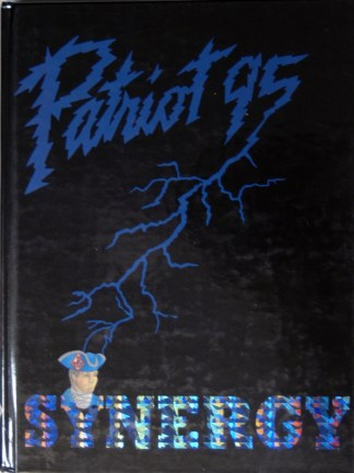 1995 Fort Dorchester Patriot Yearbook Cover