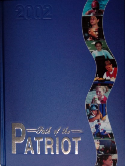 2002 Fort Dorchester Patriot Yearbook Cover