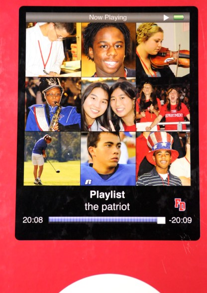 2009 Fort Dorchester Patriot Yearbook Cover