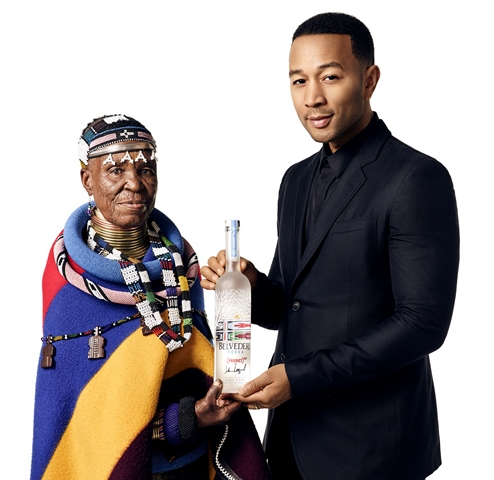 Belvedere Vodka and John Legend join forces to fight AIDS