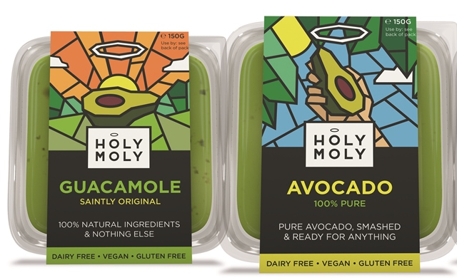 Holy Moly to 'shake up' dips category with new guacamole range