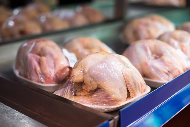 Steady levels of campylobacter in supermarket chickens