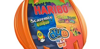 Second year run for Kingsmoor Packaging's Haribo Halloween Duo Tub