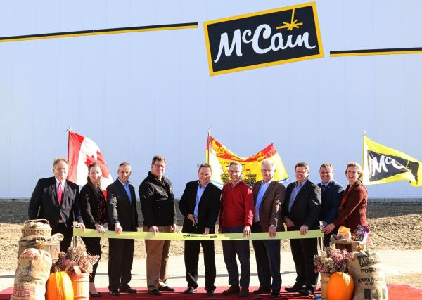McCain Foods open $65m potato production line
