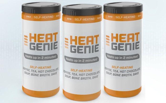 HeatGenie raises $6m to advance self-heating beverage packaging