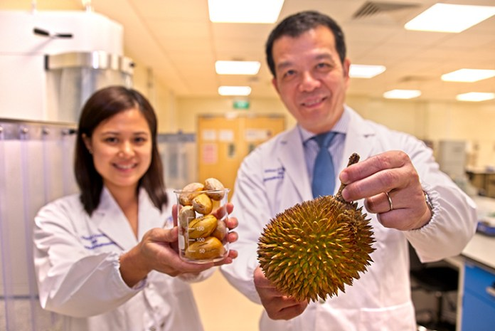 Natural food stabilisers developed from durian seeds