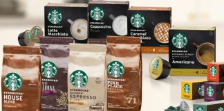 Nestlé launches first range of Starbucks branded coffee products