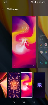 Wallpapers can be added optionally to your default wallpaper set