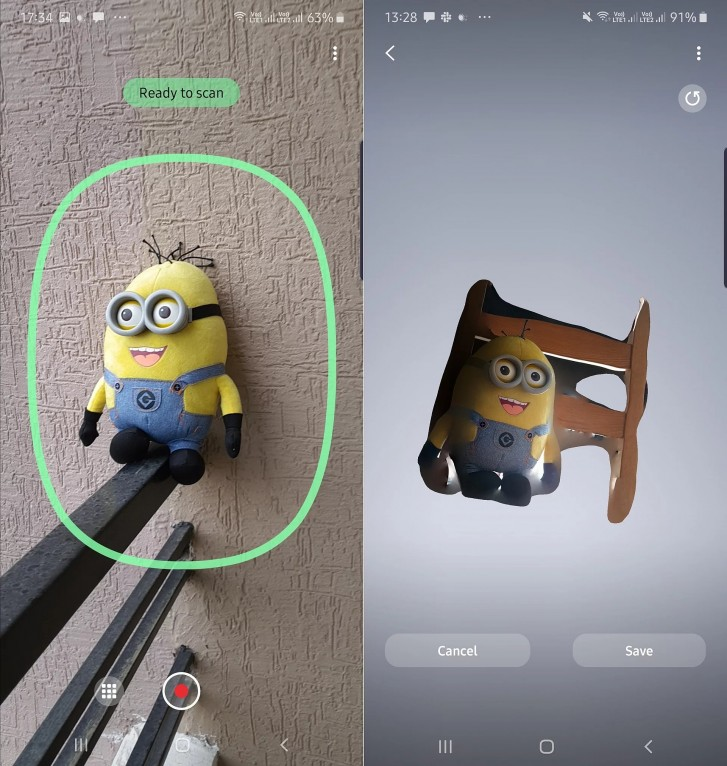 Samsung releases 3D scanner app for the Galaxy Note 10+