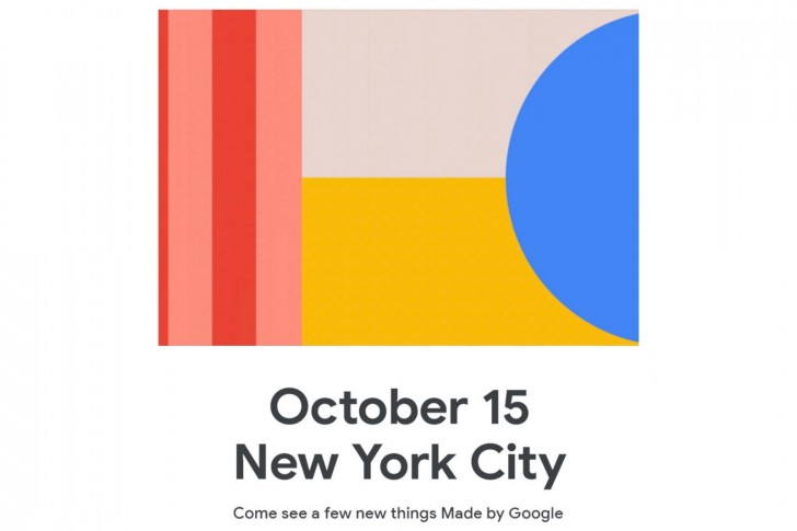 It's official: Google will be announcing the Google Pixel 4 and 4 XL on Oct 15