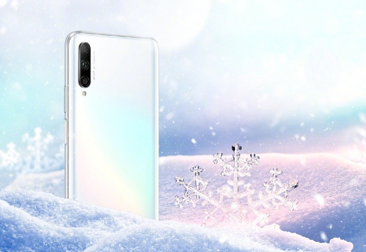 Honor 9X will come in new Icelandic White color starting October 1