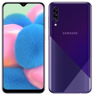 Samsung Galaxy A30s in Prism Crush Violet color