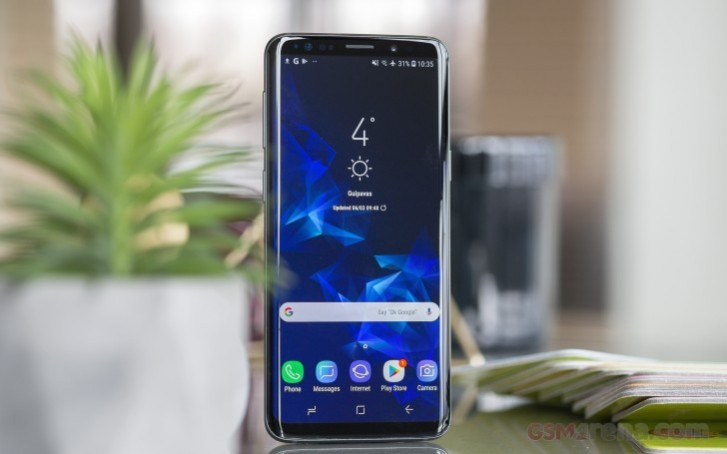 Samsung testing Android 10 on Galaxy S9 series