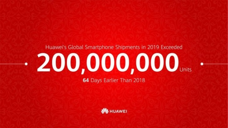 Huawei sells 200 million smartphones two months ahead of schedule