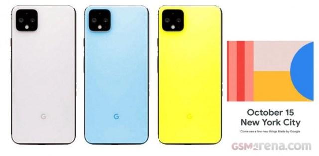 Google Pixel 4 va apărea cu ușor verde, poate roz, albastru deschis și foarte galben
