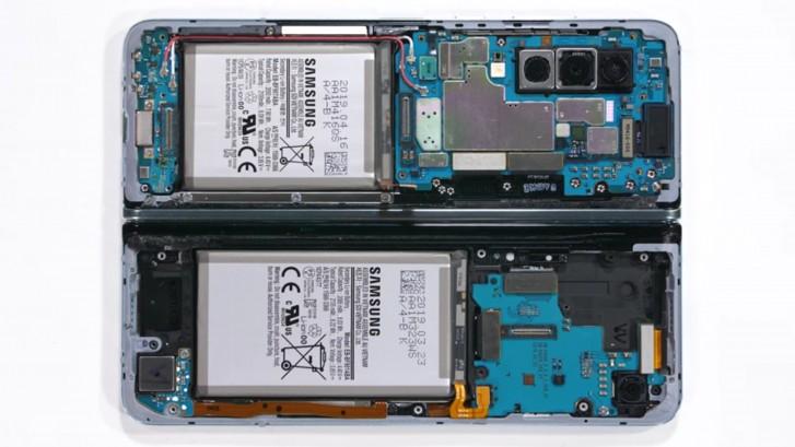 Samsung Galaxy Fold torn down on video