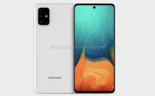 Leaked render of Galaxy A71