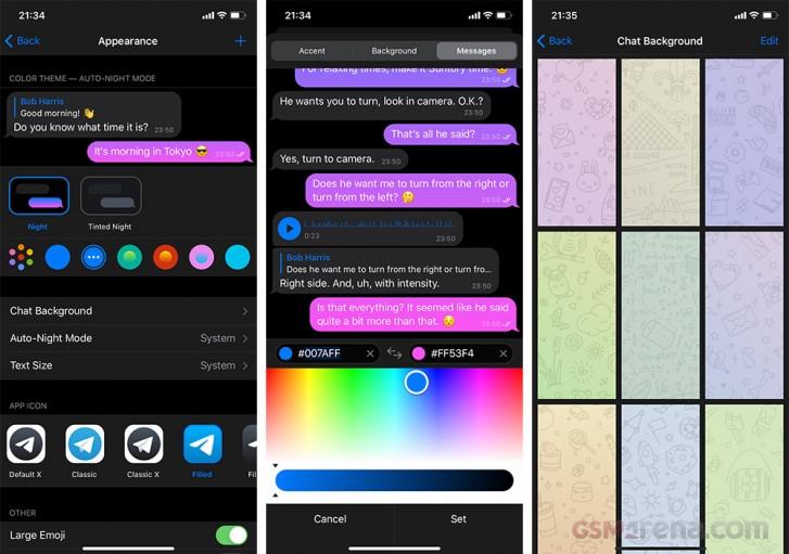 Telegram pushes massive new update with dozens of changes