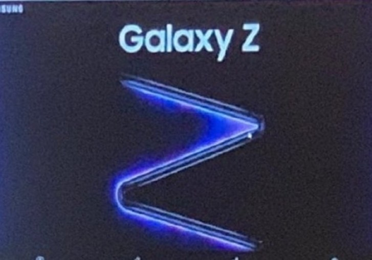 Alleged Samsung Galaxy Z with dual-hinge design pops up in promo poster