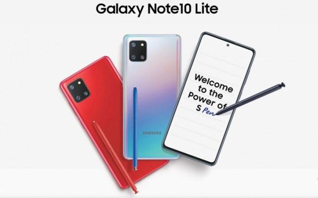 Samsung Galaxy Note10 Lite will start at INR 35,990