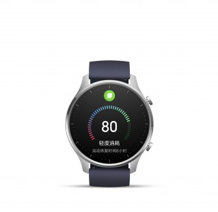 Xiaomi Watch Color in Black and Silver