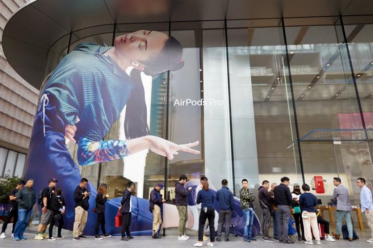 Apple menutup semua toko dan kantor di China hingga 9 Februari