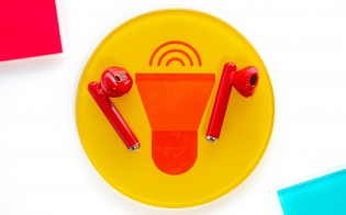 Huawei Freebuds 3 in Red