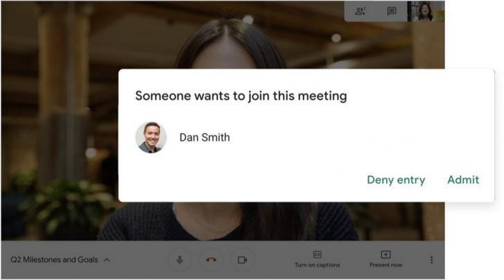 Tidak semua orang bisa bergabung dengan bebas dalam rapat