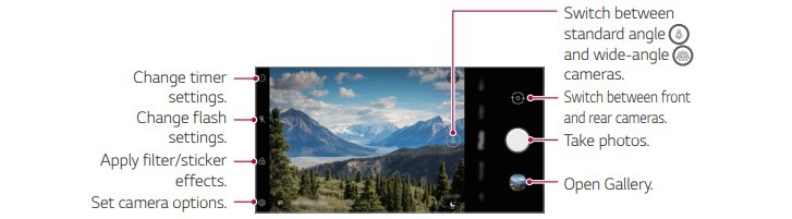 More LG Premiere Pro Plus (L455DL) details surface: dual camera with ultra wide lens