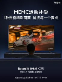 Redmi X TV teasers