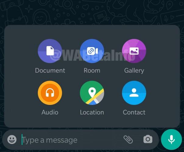 WhatsApp für Android integriert Facebook Messenger Rooms in die neueste Beta